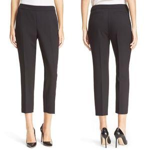 Kate Spade Black Cobie Crop Cigarette Pants
